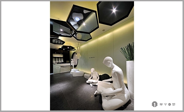 望江南玻璃钢烤汽车漆人物装饰雕塑