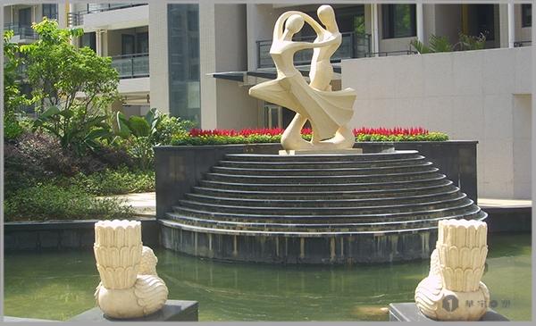 丽景天成砂岩景观人物雕塑