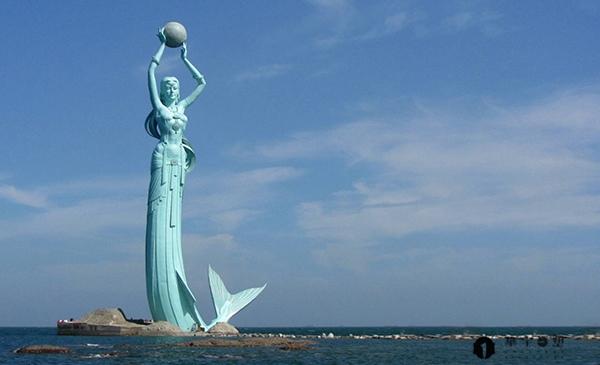 营口鲅鱼公主雕塑