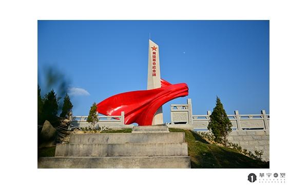 宁德寿宁红色甲坑烽火岗垅雕塑制作