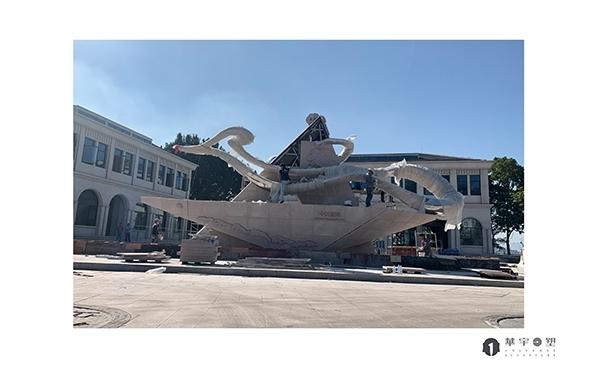 福州不锈钢雕塑的安装和使用期间的维护工作