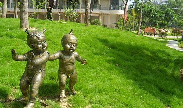 福州小区景观雕塑